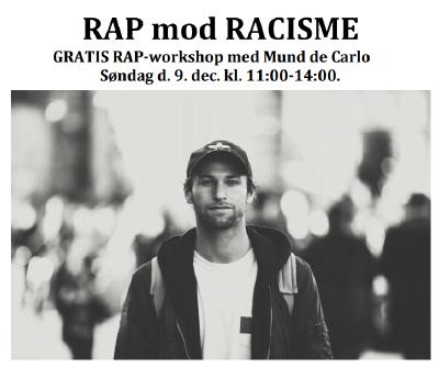RAP mod Racisme workshop – 9. december 2018